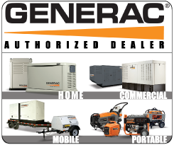 Generac Generators Authorized Dealer